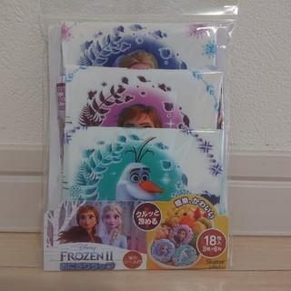 アナトユキノジョオウ(アナと雪の女王)のアナ雪2 新品 おにぎりラップ 留めシール付 18枚入(弁当用品)