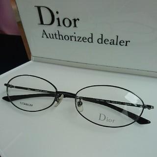 ディオール(Dior)のDior眼鏡7560ブラック(サングラス/メガネ)
