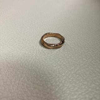 新品未使用 ステンレス ピンキー リング 指輪 5号(リング(指輪))