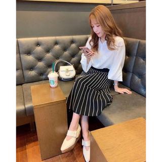 レディー(Rady)のMICOAMERI♡ストライプニットスカート ミコアメリ(ロングスカート)