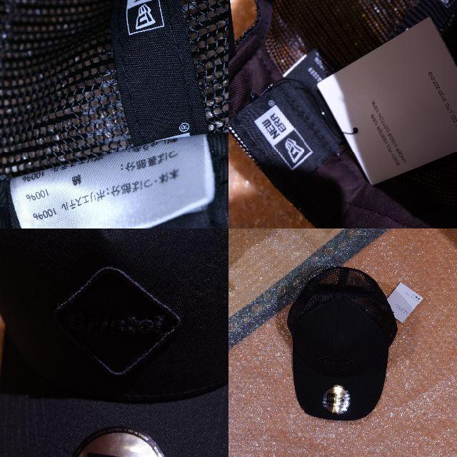 F.C.R.B.(エフシーアールビー)のFCRB NEW ERA EMBLEM MESH CAPニューエラ メンズの帽子(キャップ)の商品写真