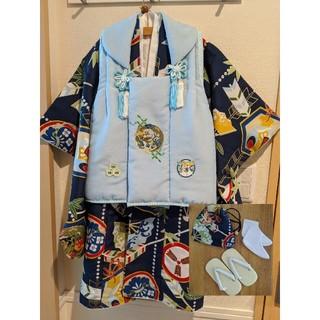 七五三 被布 3歳 男の子 袴 小町kids(和服/着物)