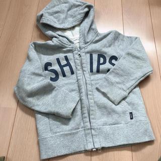 シップス(SHIPS)のシップス フード付きパーカー 90(ジャケット/上着)