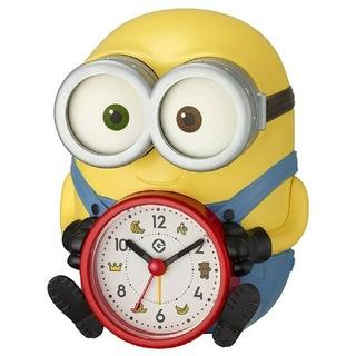 ミニオン(ミニオン)の新品 ミニオンズボブ目覚まし時計(置時計)