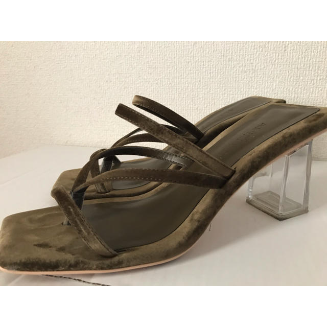 ALEXIA STAM(アリシアスタン)のALEXASTAMクリアヒール レディースの靴/シューズ(サンダル)の商品写真