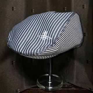 ヴィヴィアンウエストウッド(Vivienne Westwood)のVivienne Westwood/ハンチング帽子 ヒッコリー(ハンチング/ベレー帽)