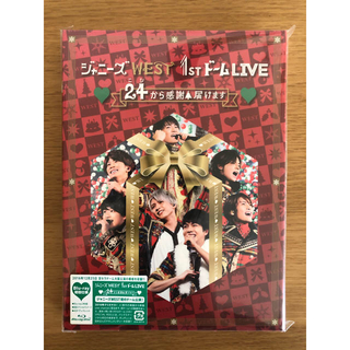 ジャニーズWEST - ジャニーズWEST 1stドーム 24から感謝届けます(初回仕様)Blu-ray