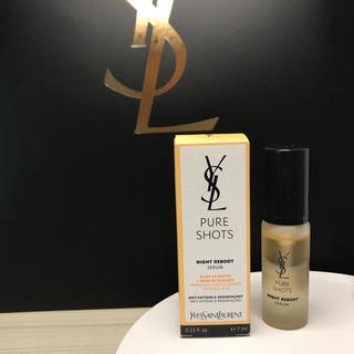 イヴサンローランボーテ(Yves Saint Laurent Beaute)のイヴ・サンローラン ピュアショット ナイトセラム 美容液 新品 ミニ サンプル(美容液)