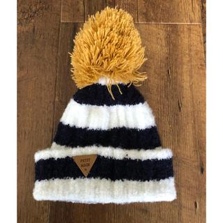 プティマイン(petit main)のベビー 帽子 46(帽子)