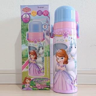ディズニー(Disney)のソフィア 新品 超軽量 コップ付 ステンレスボトル 分離中栓 570(水筒)