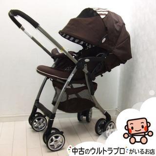 Aprica - 綺麗★1ヶ月から3才★ベビーカー★アップリカ ラクーナ★オート4キャス★