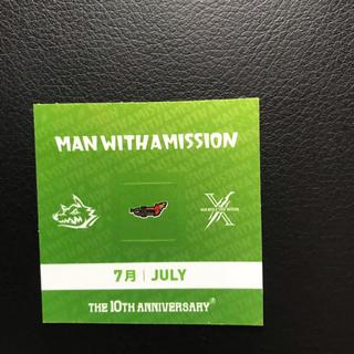 マンウィズアミッション(MAN WITH A MISSION)のMAN  WITH A MISSION 7月のガウシール(ミュージシャン)