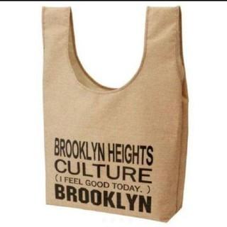 ブルックリン BROOKLYN 新品 麻風 レジャートートバッグ かばん(エコバッグ)