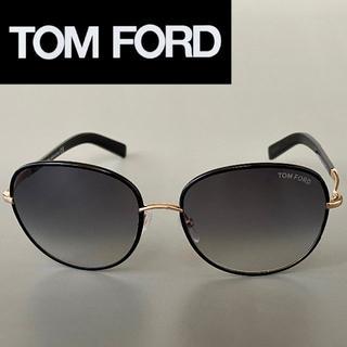トムフォード(TOM FORD)のトムフォード Georgia TF0498 ブラック ゴールド サングラス 黒(サングラス/メガネ)