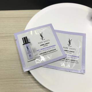 イヴサンローランボーテ(Yves Saint Laurent Beaute)のイヴ・サンローラン ピュアショット Lセラム 美容液 新品 ミニ サンプル(美容液)