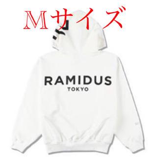 WDS × RAMIDUS BIG LOGO HOODIE / WHITE M(パーカー)