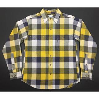 コロンビア(Columbia)のColumibaコロンビアオンス厚め生地ブロックチェックネルシャツS(シャツ)