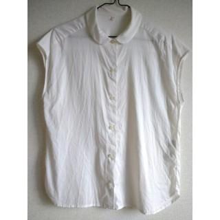 ムジルシリョウヒン(MUJI (無印良品))の無印 丸襟 シャツ ブラウス(シャツ/ブラウス(半袖/袖なし))