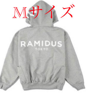 WDS × RAMIDUS BIG LOGO HOODIE / GRAY M(パーカー)