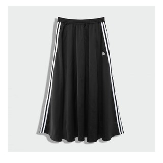 アディダス(adidas)のadidas ロングサテンスカート Lサイズ    マストハブ(ロングスカート)