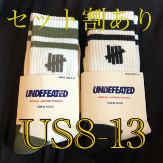 UNDEFEATED -  UNDEFEATED CREW SOCK アンディフィーテッド ソックス 靴下