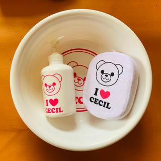 セシルマクビー(CECIL McBEE)の新品・未使用 セシルマグビー お風呂セット(タオル/バス用品)