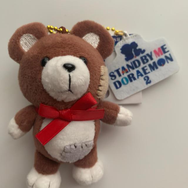 ユニバ ドラえもん くまちゃん キーホルダー ぬいぐるみ エンタメ/ホビーのおもちゃ/ぬいぐるみ(キャラクターグッズ)の商品写真