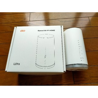 au  speed  Wi-Fi HOME L01s  (PC周辺機器)