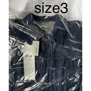 コモリ(COMOLI)のcomoli 2020aw denim jacket 新品未使用 サイズ3(Gジャン/デニムジャケット)
