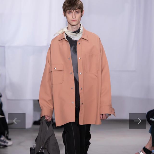 Jil Sander(ジルサンダー)のOAMC 20SS MAX SHIRT SHELL PINK メンズのジャケット/アウター(その他)の商品写真