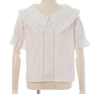 リズリサ(LIZ LISA)のリズリサ 襟ブラウス(シャツ/ブラウス(半袖/袖なし))
