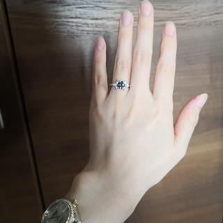 アレキサンドライト ダイヤモンド プラチナ リング(リング(指輪))