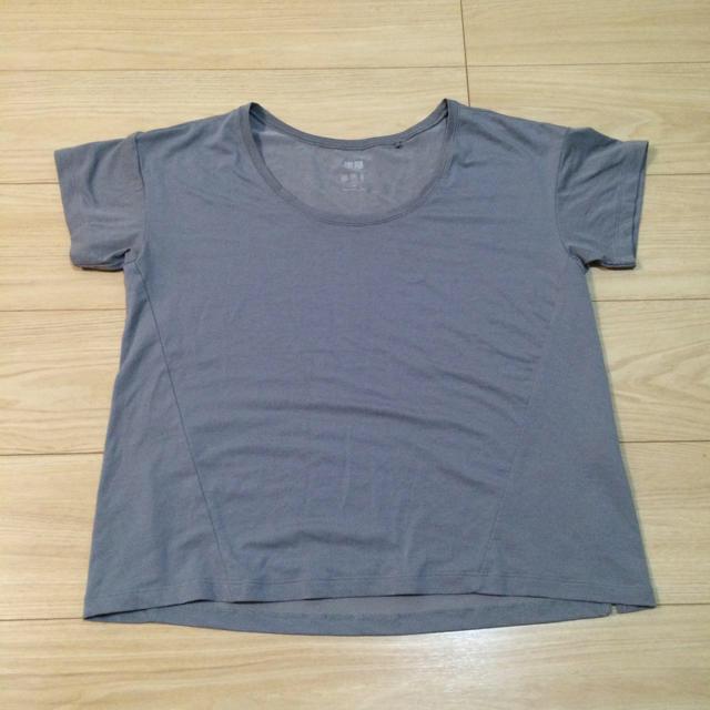 UNIQLO(ユニクロ)のユニクロ エアリズムTシャツ2枚 レディースのトップス(T