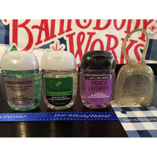 Bath & Body Works - Bath and Body Works 3個セット+ホルダー