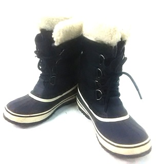 ソレル(SOREL)のSOREL(ソレル) ブーツ レディース 黒(ブーツ)