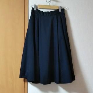 シップス(SHIPS)のSHIPS・ミモレ丈フレアースカート(ひざ丈スカート)