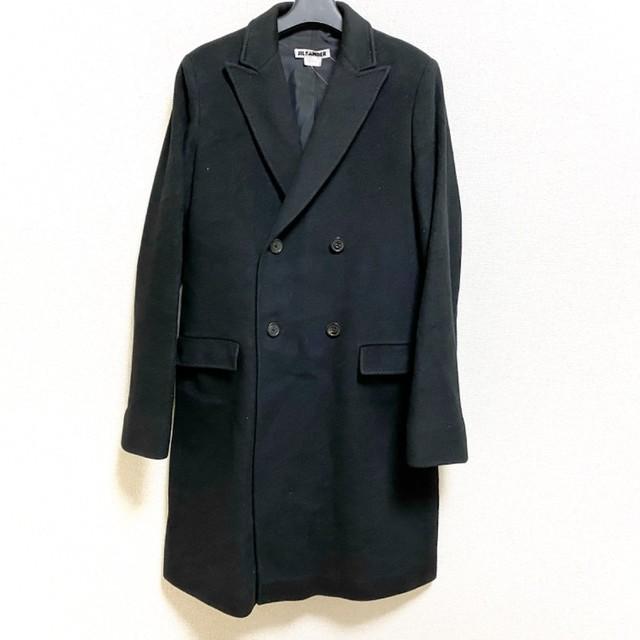 Jil Sander(ジルサンダー)のジルサンダー コート サイズ38 M メンズ 黒 メンズのジャケット/アウター(その他)の商品写真