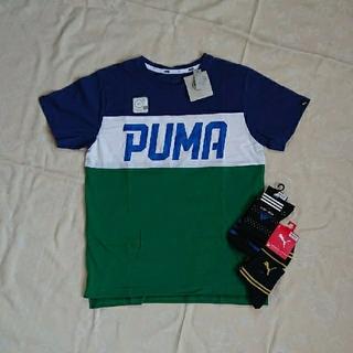 PUMA - PUMA Tシャツ、靴下2足セット