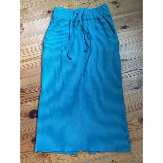 LOWRYS FARM(ローリーズファーム)のローリーズファーム   リブタイトスカート レディースのスカート(ロングスカート)の商品写真