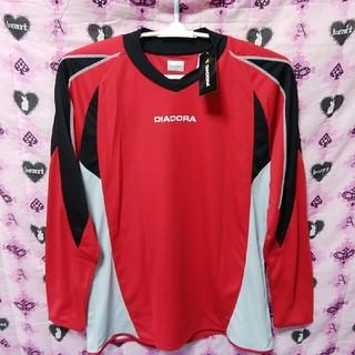 ディアドラ(DIADORA)の超高性能DIADORAロンTシャツXLサイズ(Tシャツ/カットソー(七分/長袖))