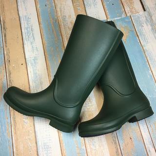 crocs - 軽くて履きやすい♪クロックスレインブーツ 22.0cm