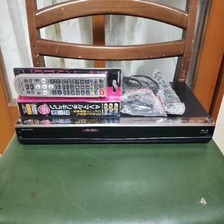 シャープ(SHARP)の新品同様!W録3D500G!外付HDD可!スマホ対応!シャープBD-W560(ブルーレイレコーダー)