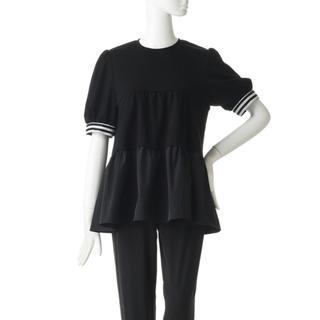 ドゥロワー(Drawer)のチャンミー様専用✳︎borders at balcony ブラック 36(Tシャツ(半袖/袖なし))