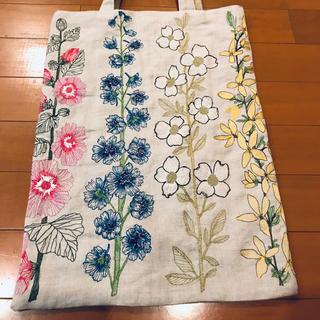 コーラル&タスク トートバッグ Flowers