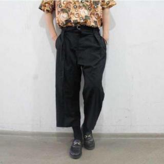 ヨウジヤマモト(Yohji Yamamoto)のsulvam ハイウエストカットオフパンツ バーニーズニューヨーク別注(スラックス)