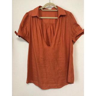ヴィス(ViS)のvisスキッパーシャツ(シャツ/ブラウス(半袖/袖なし))