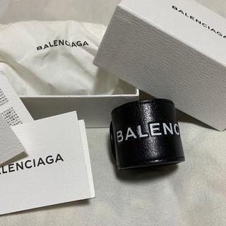 バレンシアガ(Balenciaga)のBALENCIAGA レザーバングル(バングル/リストバンド)