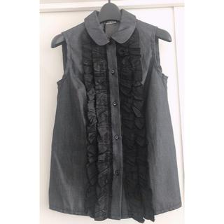 ミュウミュウ(miumiu)のミュウミュウmiumiu トップス(シャツ/ブラウス(半袖/袖なし))