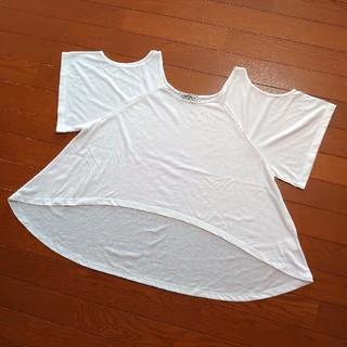 ローズバッド(ROSE BUD)の◇美品◇ROSEBUD オープンショルダーTシャツ(Tシャツ(半袖/袖なし))