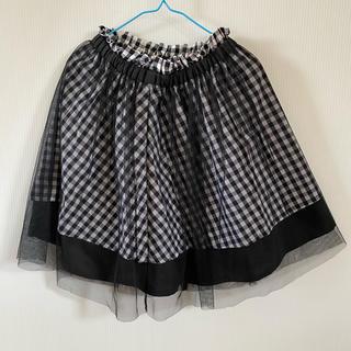 バービー(Barbie)のBarbie レーススカート 140(スカート)